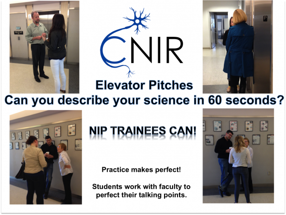 CNIR Elevator Pitches